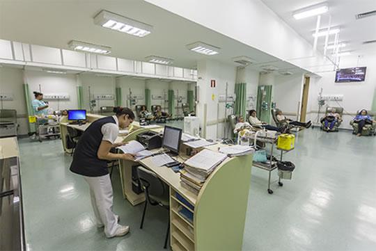 Atendimento no Hospital de Câncer de Barretos